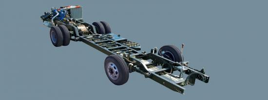 CNG bus chassis