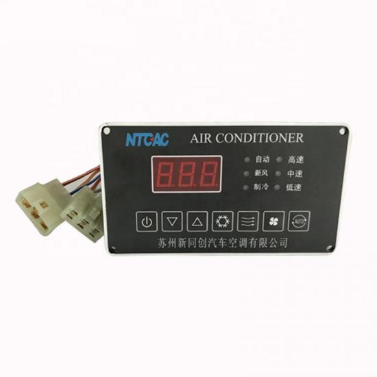 Bus Air condition control panel