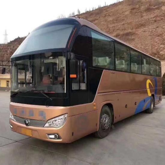 yutong used bus 50 seat